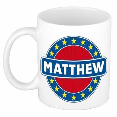 Namen koffiemok / theebeker matthew 300 ml