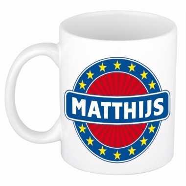 Namen koffiemok / theebeker matthijs 300 ml