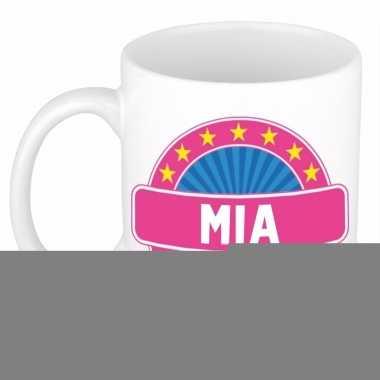 Namen koffiemok / theebeker mia 300 ml