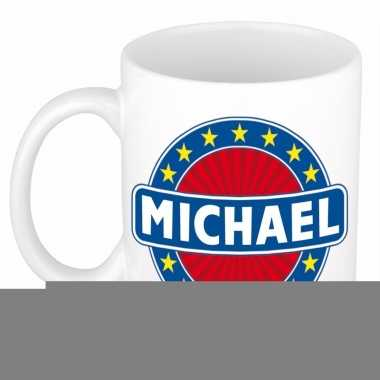 Namen koffiemok / theebeker michael 300 ml