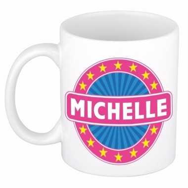 Namen koffiemok / theebeker michelle 300 ml