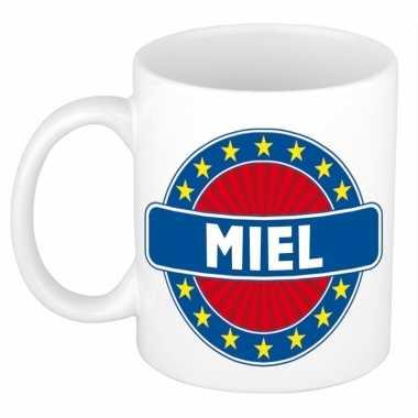 Namen koffiemok / theebeker miel 300 ml