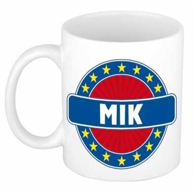 Namen koffiemok / theebeker mik 300 ml