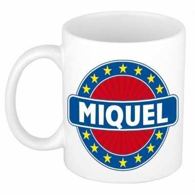 Namen koffiemok / theebeker miquel 300 ml