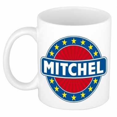 Namen koffiemok / theebeker mitchel 300 ml