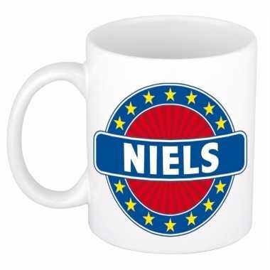 Namen koffiemok / theebeker niels 300 ml