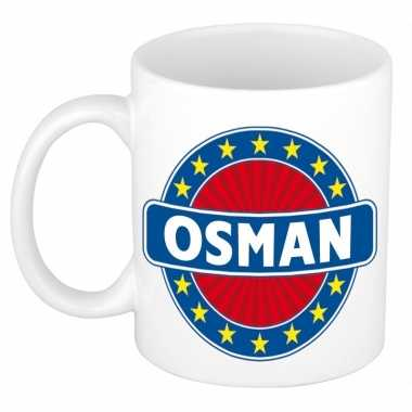 Namen koffiemok / theebeker osman 300 ml