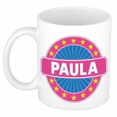 Namen koffiemok / theebeker paula 300 ml
