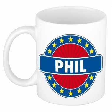 Namen koffiemok / theebeker phil 300 ml
