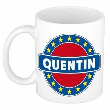 Namen koffiemok / theebeker quentin 300 ml