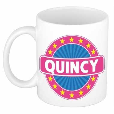 Namen koffiemok / theebeker quincy 300 ml
