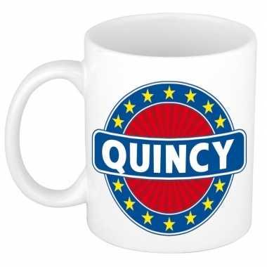 Namen koffiemok / theebeker quincy 300 ml