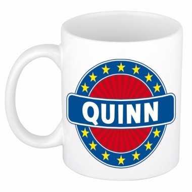 Namen koffiemok / theebeker quinn 300 ml