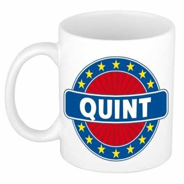 Namen koffiemok / theebeker quint 300 ml