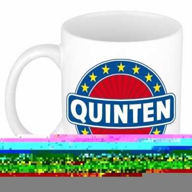 Namen koffiemok / theebeker quinten 300 ml