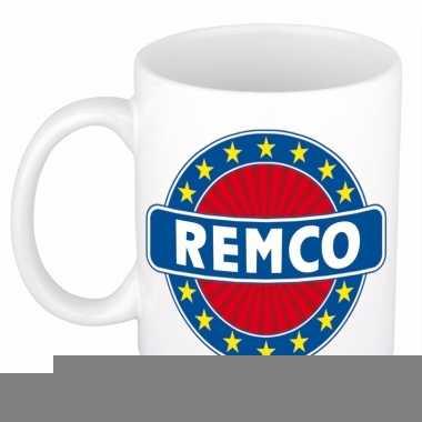 Namen koffiemok / theebeker remco 300 ml
