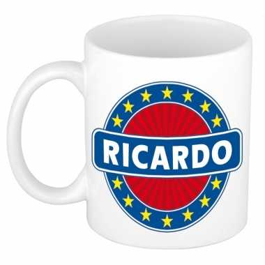 Namen koffiemok / theebeker ricardo 300 ml