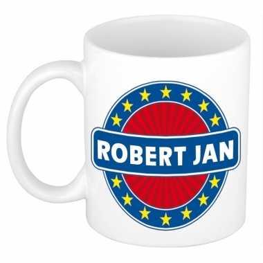 Namen koffiemok / theebeker robert jan 300 ml