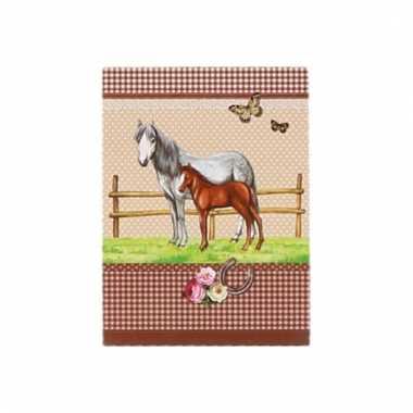 Notitieblok paarden a7 trend 10093851