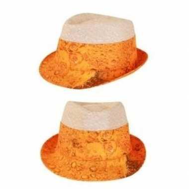 Oktoberfest - bier hoed voor volwassenen
