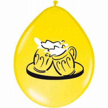 Oktorfest bier ballonnen 8 stuks