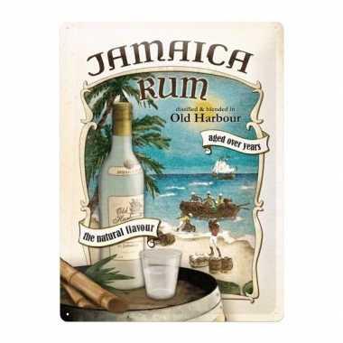 Old harbour poster muurdecoratie jamaica rum 30 x 40 cm