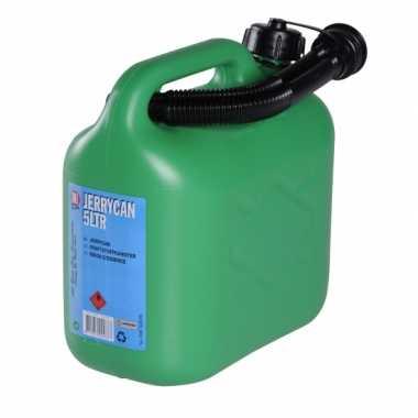 Olie of benzine jerrycan 5 liter