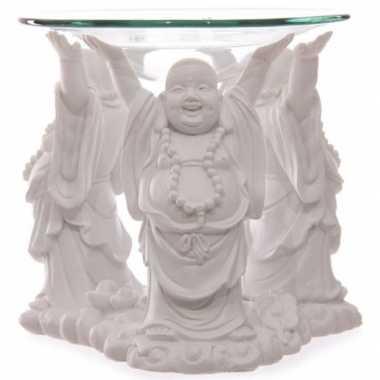 Oliebrander boeddha 11 cm