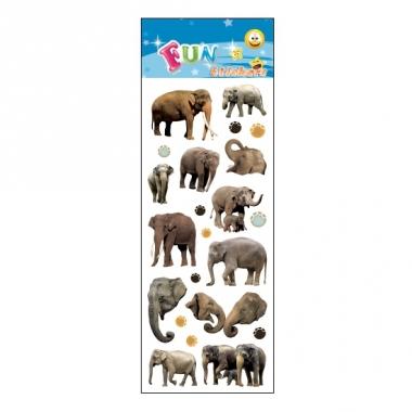 Olifanten stickervellen