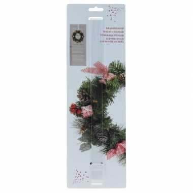 Onzichtbare kerstkrans hanger 40 cm