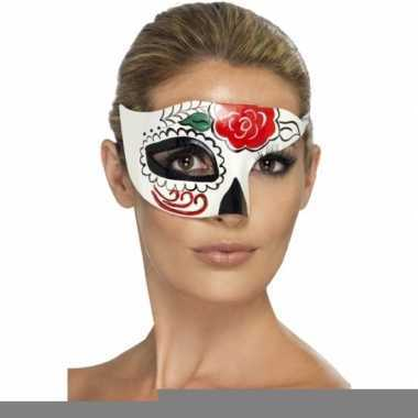 Oogmasker day of the dead halloween