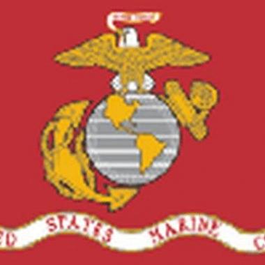 Oorlog us marine corps vlag 150 x 90 cm