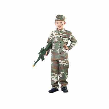 Oorlogje spelen kostuum voor jongens