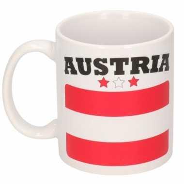Oostenrijkse vlag theebeker