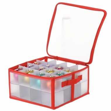 Opbergbox voor 32 kerstballen