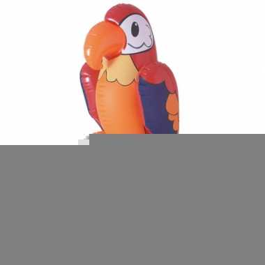 Opblaas dieren papegaaien 60 cm