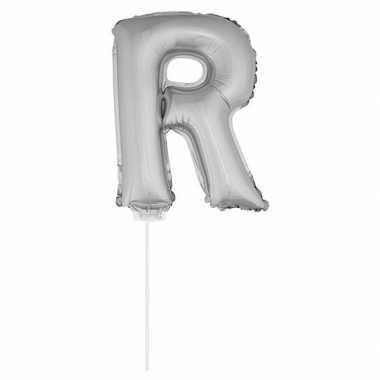 Opblaas letters op stokje