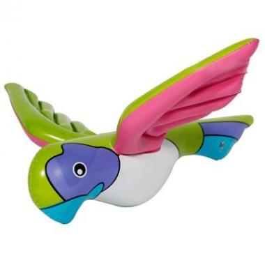 Opblaas papegaaien 23 cm