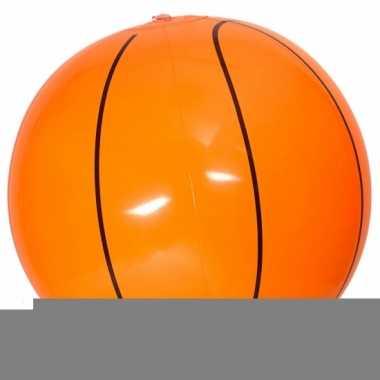 Opblaasbare basketballen