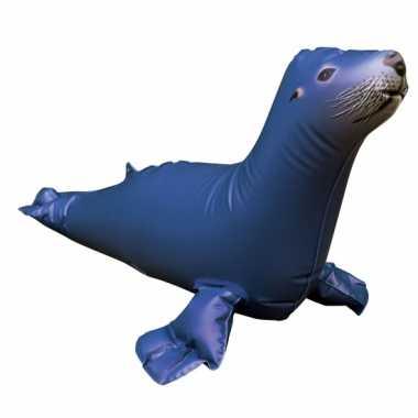 Opblaasbare blauwe speelgoed zeeleeuw 51 cm