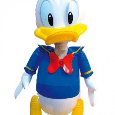 Opblaasbare donald duck 55 cm