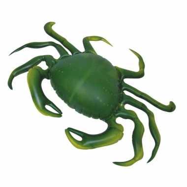 Opblaasbare groene speelgoed krab 51 cm