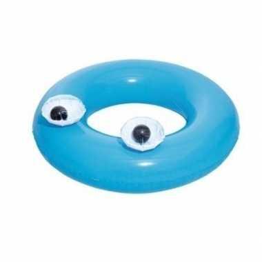 Opblaasbare zwemband blauw 91 cm voor volwassenen