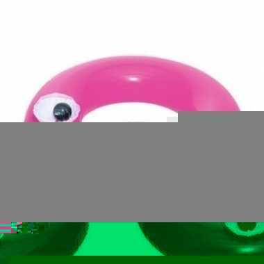 Opblaasbare zwemband roze 91 cm voor volwassenen