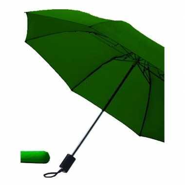 Opvouwbare paraplu donkergroen 85 cm