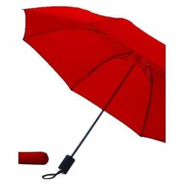 Opvouwbare paraplu rood 85 cm