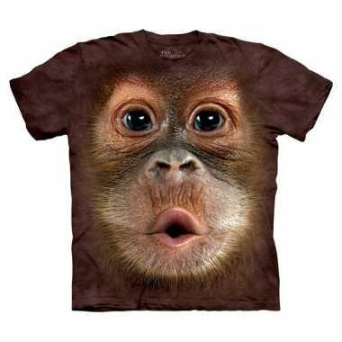 Orang oetan t-shirt voor kinderen