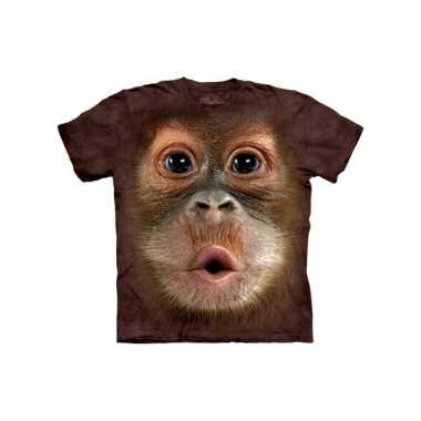 Orang oetan t-shirt voor volwassenen
