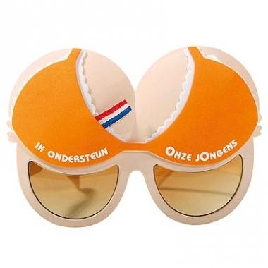 Oranje borsten bril onze jongens