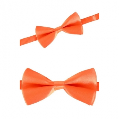 Oranje carnavals strik